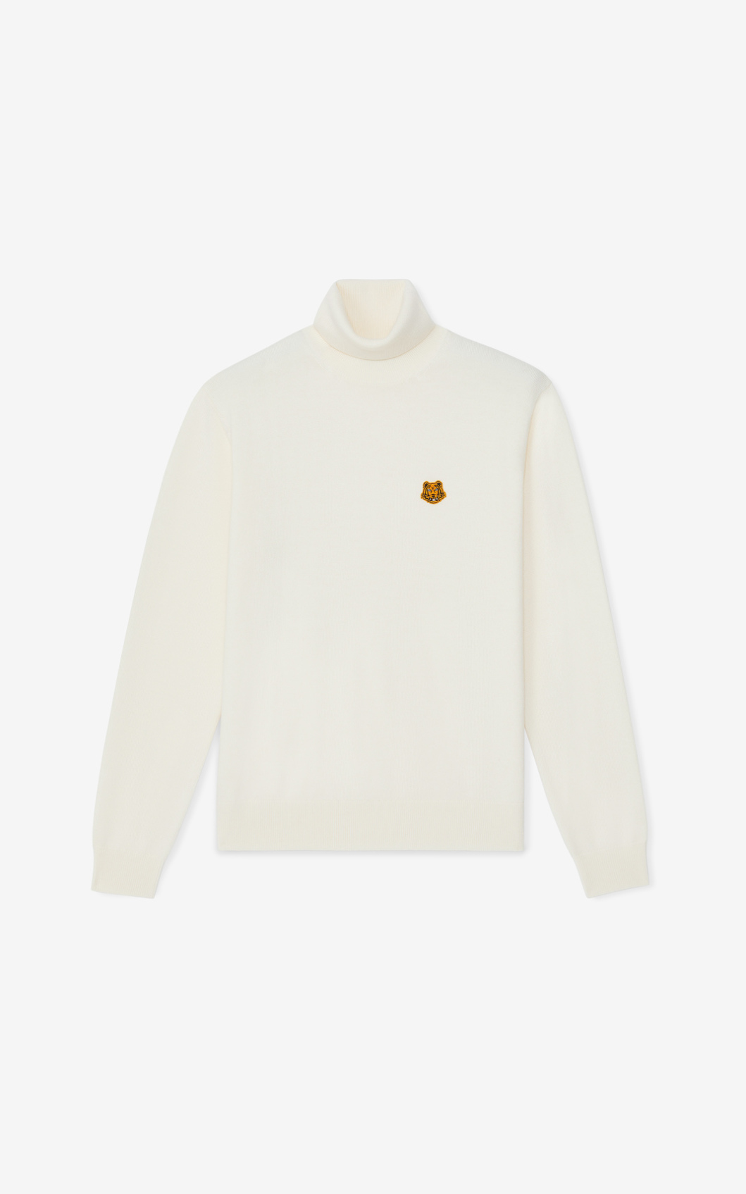 KENZO Pull col roulé Tiger Crest