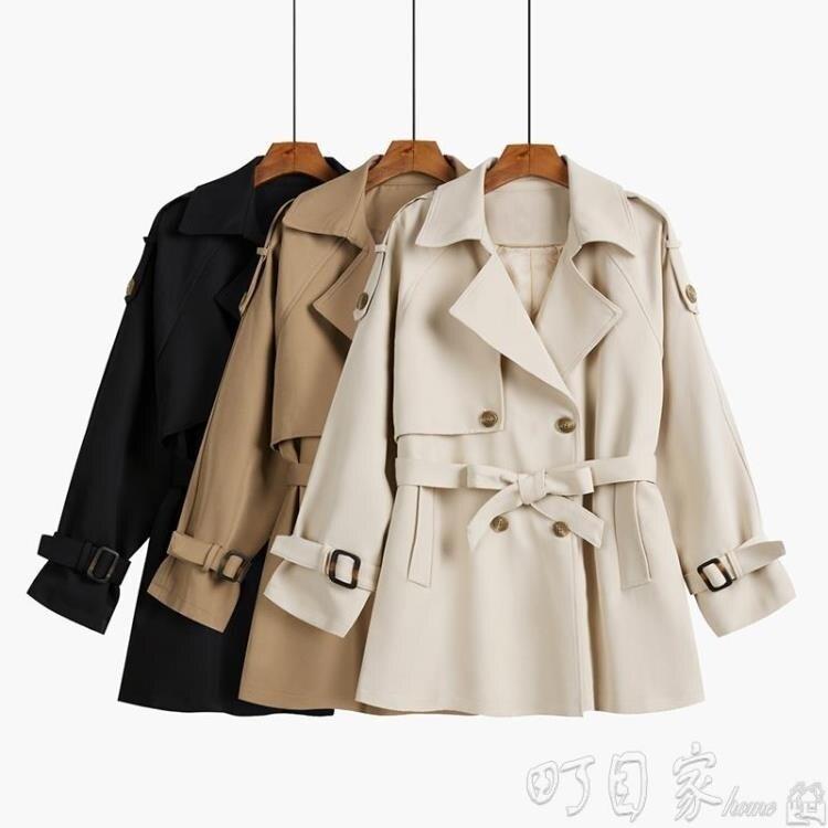【限時搶購85折】風衣風衣女中長款小個子秋季外套年新短款韓版寬鬆氣質港風大衣