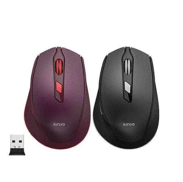 【KINYO】2.4GHz無線靜音滑鼠 (GKM-917) 無線滑鼠 PC滑鼠 電腦滑鼠【迪特軍】