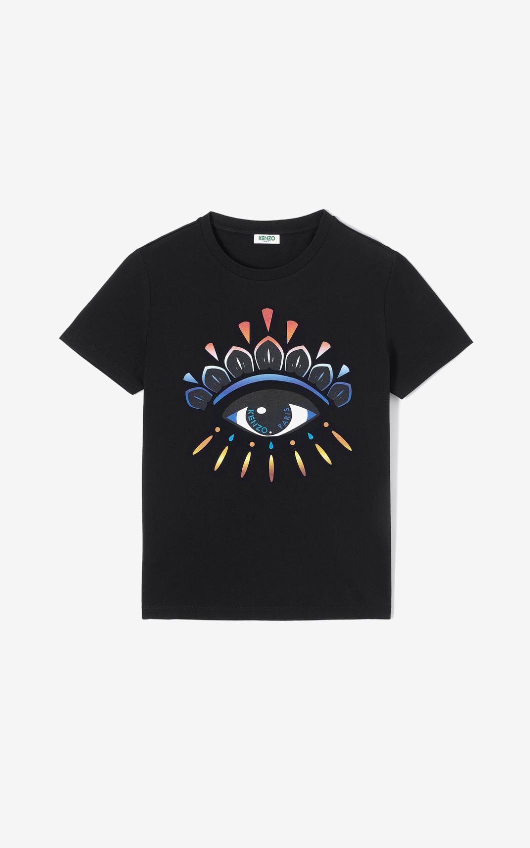 KENZO T-shirt Eye dégradé