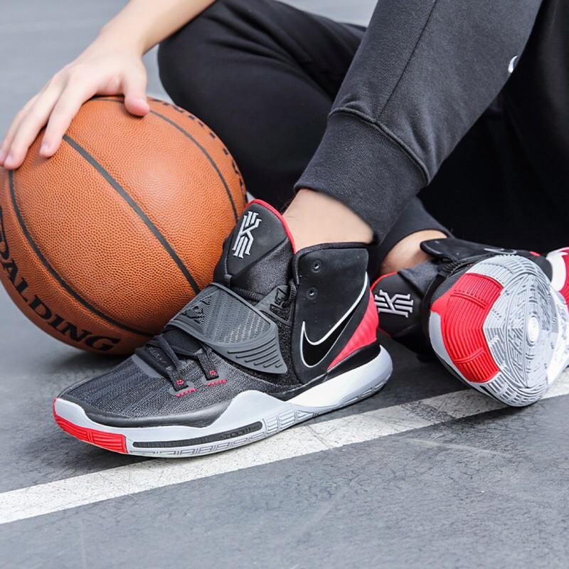 【真貨】Nike Kyrie 6 EP XDR 黑紅 厄文 籃球鞋 耐磨底 BQ4631-002