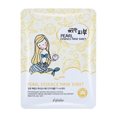 韓國esfolio面膜-珍珠25ml【愛買】