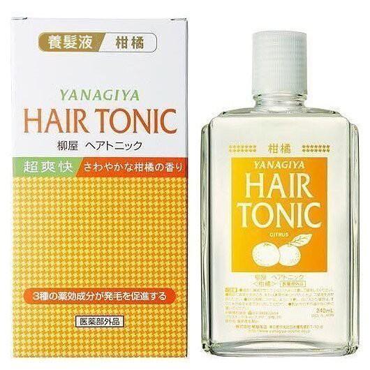☆°╮《美代子小鋪》☆°╮日本製 YANAGIYA 柳屋頭皮水 髮根精華液 柑橘味
