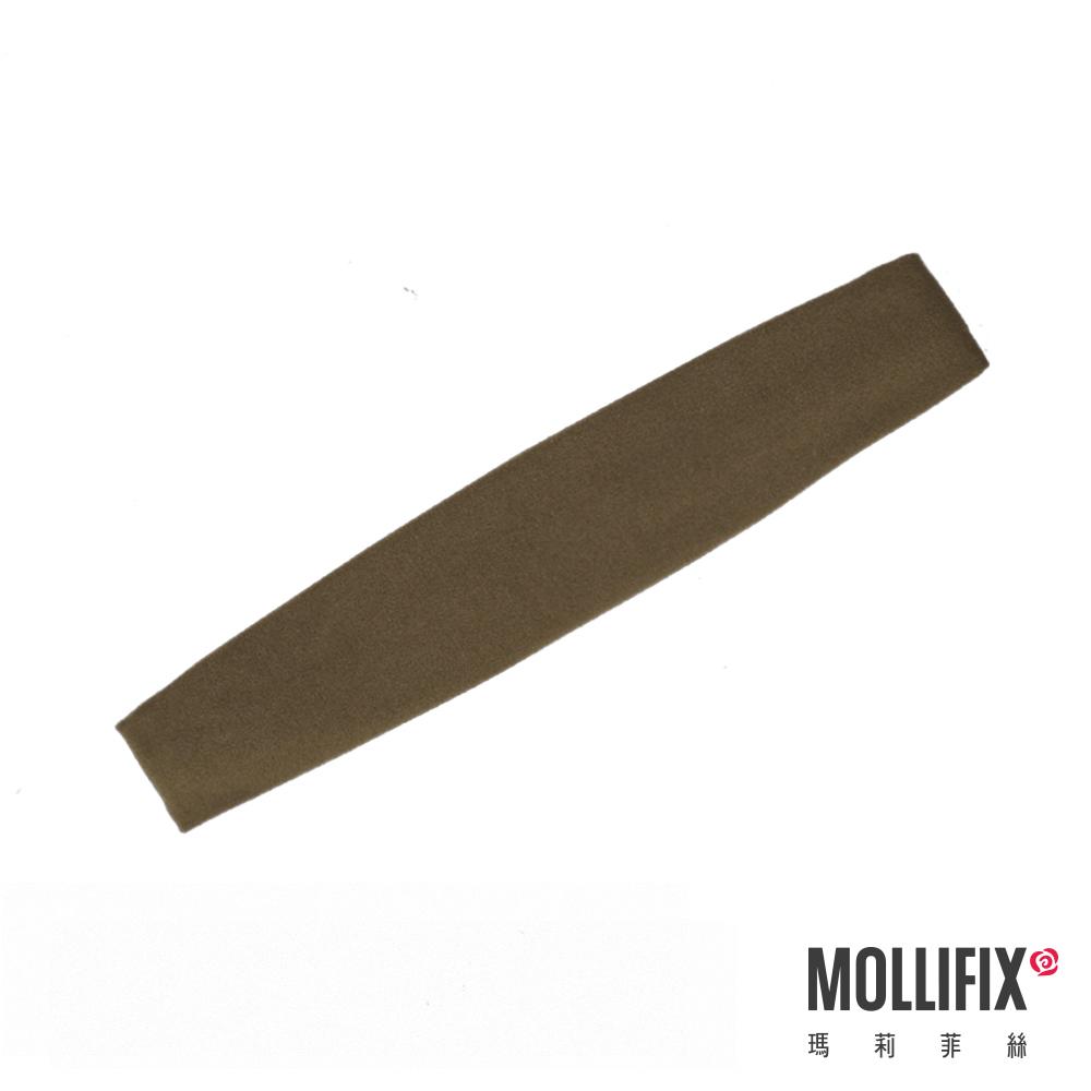 MOLLIFIX 瑪莉菲絲 造型運動髮帶 (橄綠色)