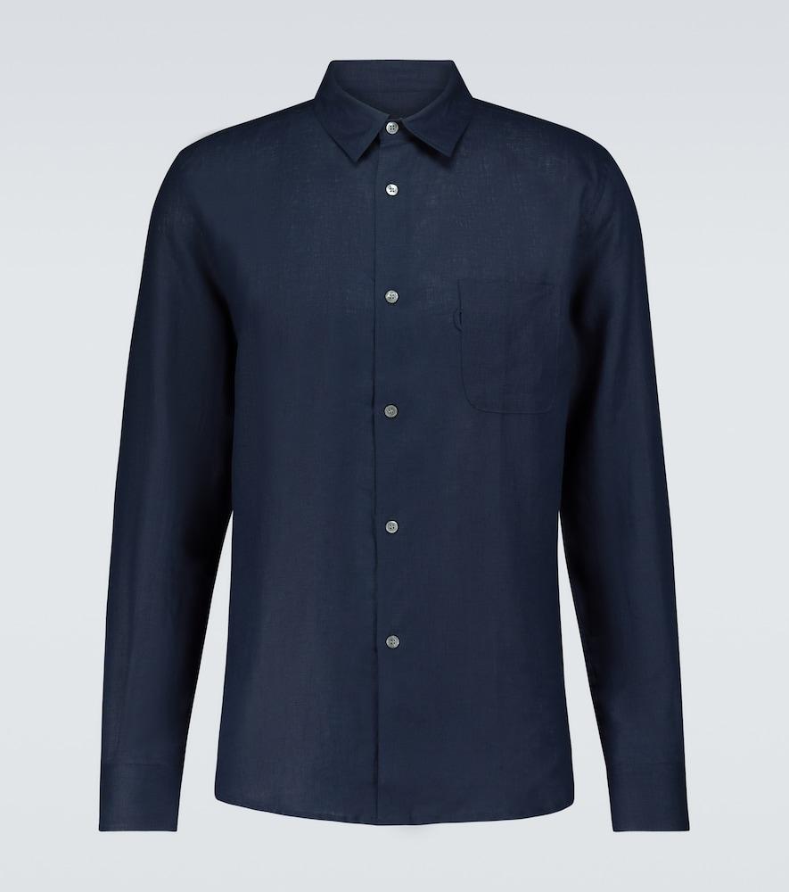Monaco 2 long-sleeved linen shirt
