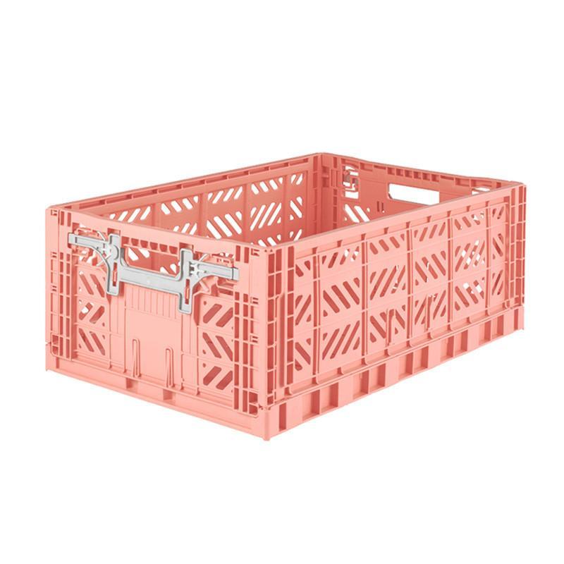 折疊收納箱 L - 鮭魚粉