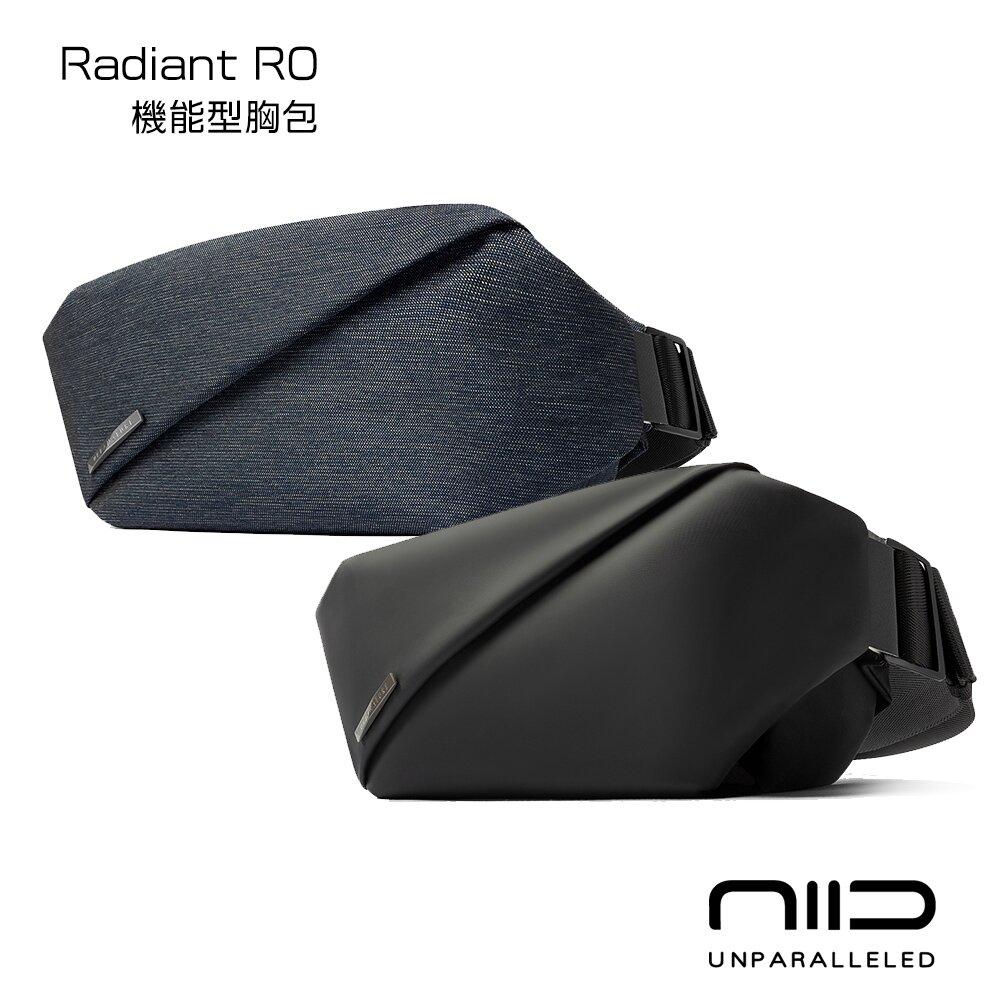 NIID 機能胸包 Radiant R0 曜石黑