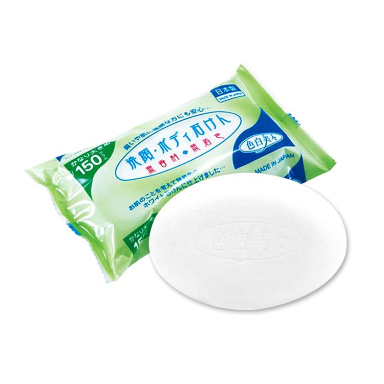 不動化學洗顏沐浴皂