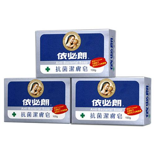 依必朗抗菌潔膚皂100g X3【愛買】