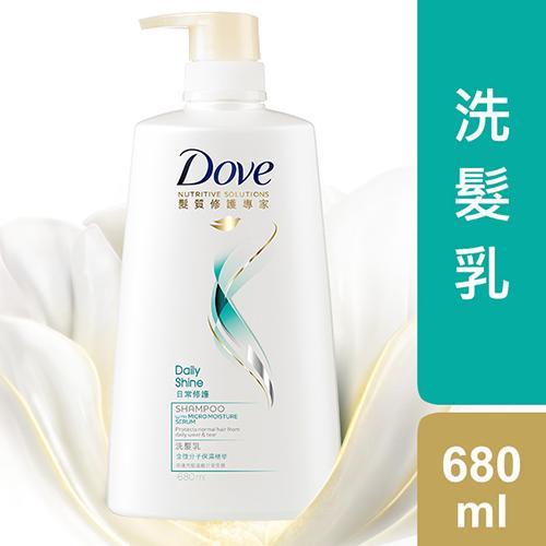 多芬日常修護洗髮乳680ml【愛買】