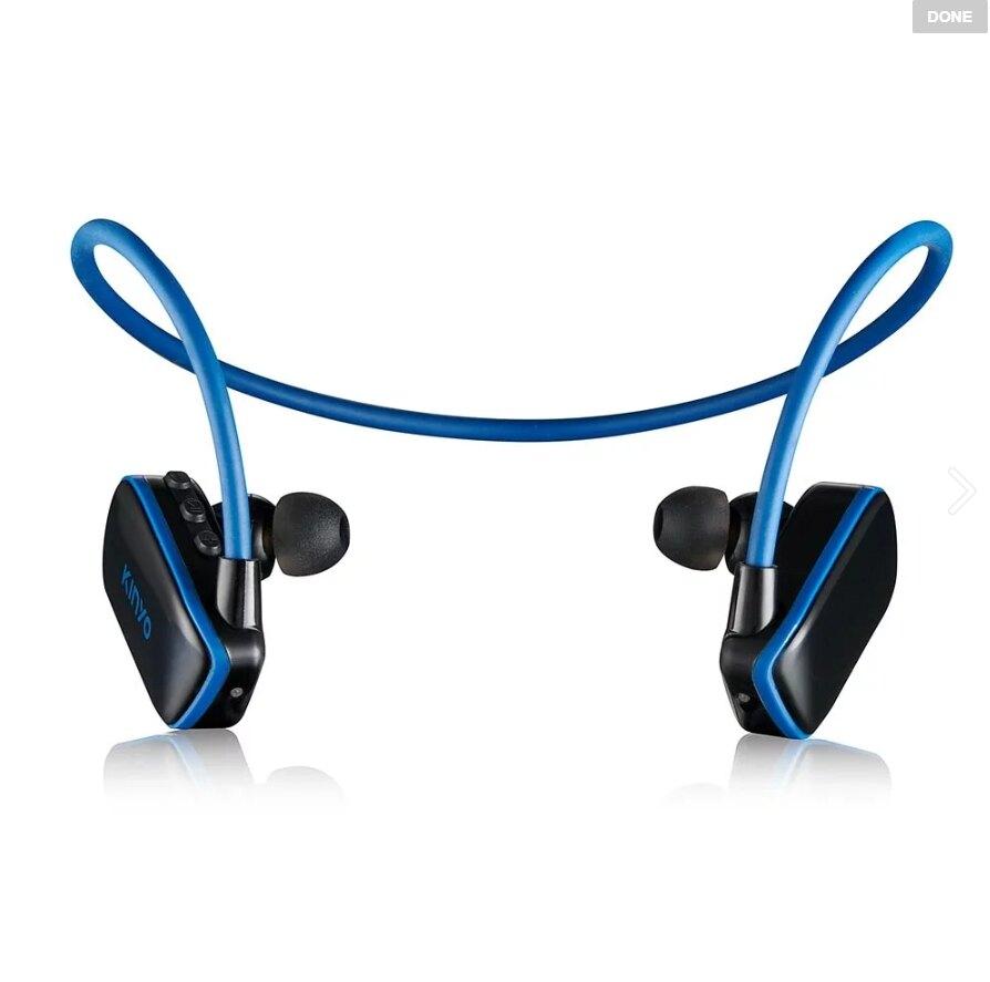 【KINYO】MP3防水運動型藍牙入耳式耳機(BTE-3970) 藍牙耳機 藍芽耳機 藍牙耳機麥克風 耳麥 無線耳機 無線耳麥【迪特軍】
