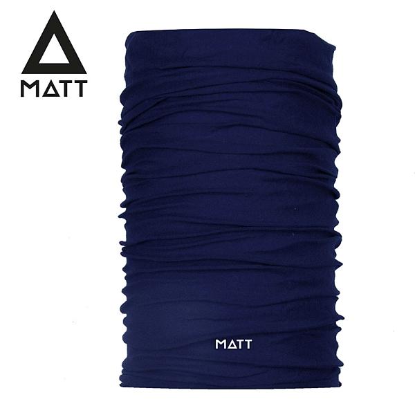 西班牙[ MATT ] Wool Scarf 美麗諾羊毛頭巾 海軍藍