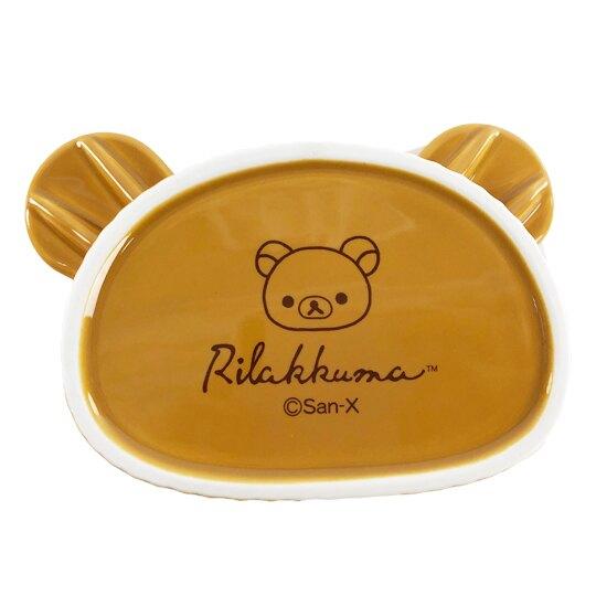 【領券折$30】小禮堂 懶懶熊 大臉造型陶瓷碗 焗烤碗 臉型碗 沙拉碗 火鍋碗 飯碗 (棕)