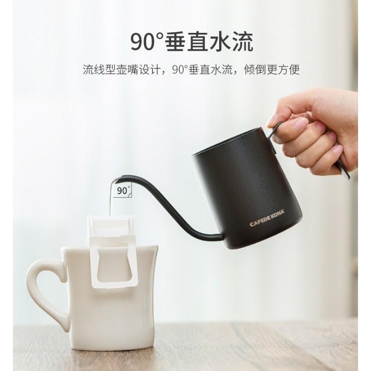 掛耳咖啡手沖細口壺不銹鋼滴漏壺 掛耳濾袋長嘴壺