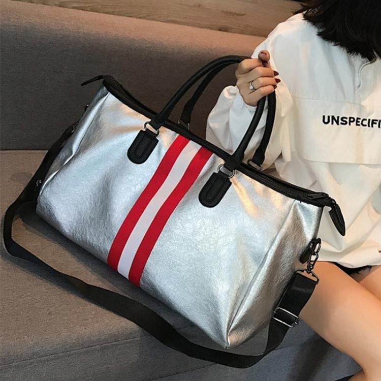 網紅韓版2021新款旅行包女手提包包行李袋男大容量短途旅游潮包  喜迎新春