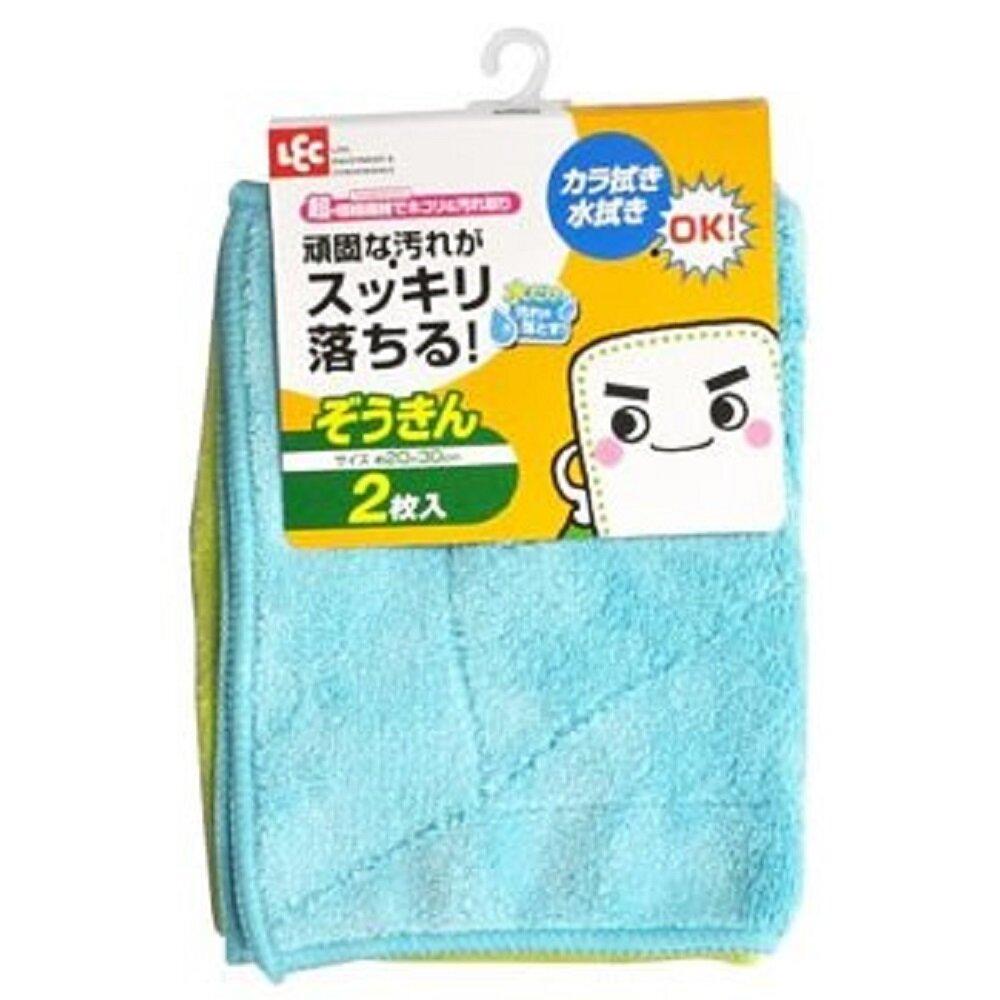 日本【LEC】 激落君奈米纖維抹布(2入)