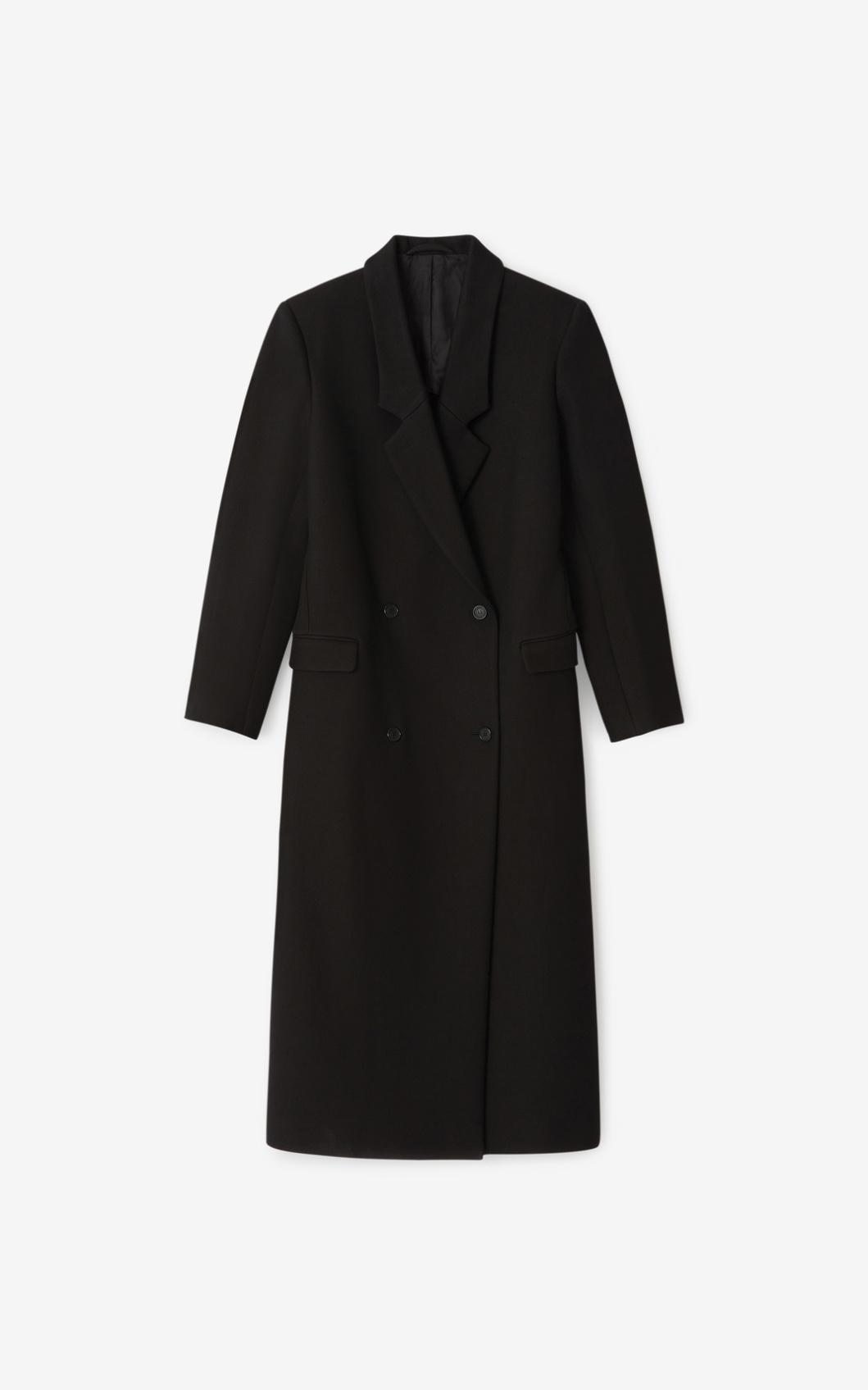 KENZO Manteau long en laine