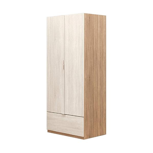 葛瑞絲2.5尺單吊衣櫃(21JS1/043-3)/H&D東稻家居