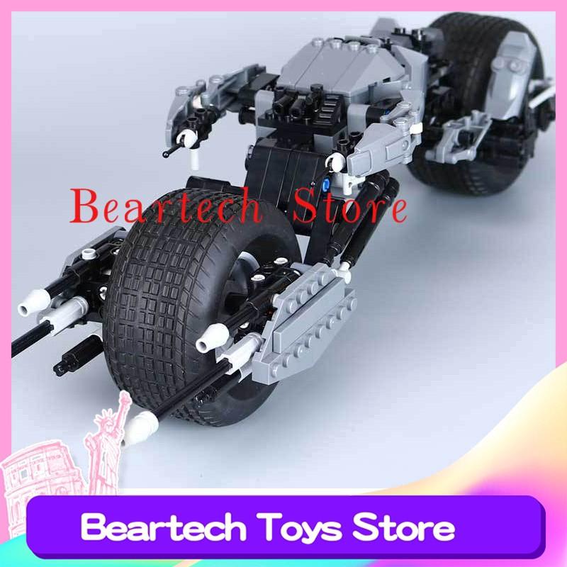 ⭐️⭐️DC超級英雄蝙蝠摩托兼容樂高5004590摩托車積木玩具磚