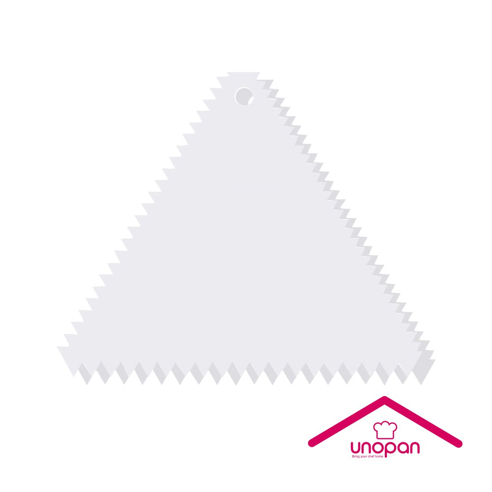 【UNOPAN 屋諾】塑膠三角齒刮板 UN35011