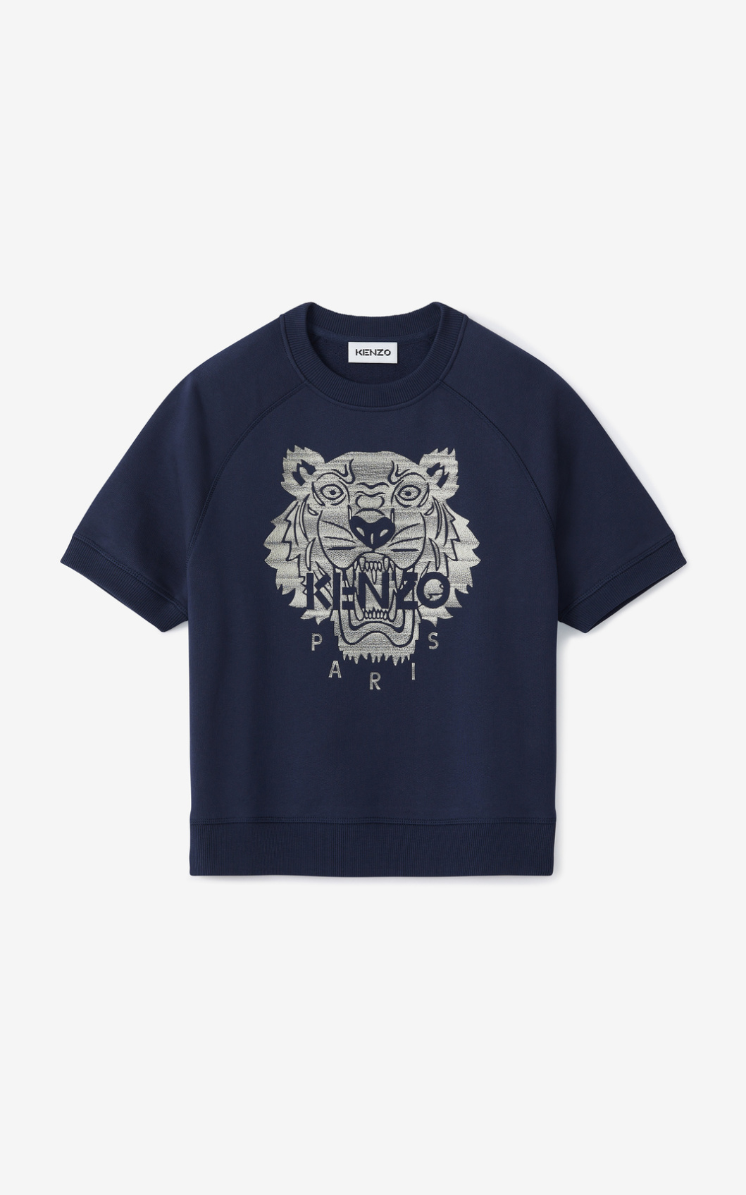 KENZO Sweatshirt Tigre brodé