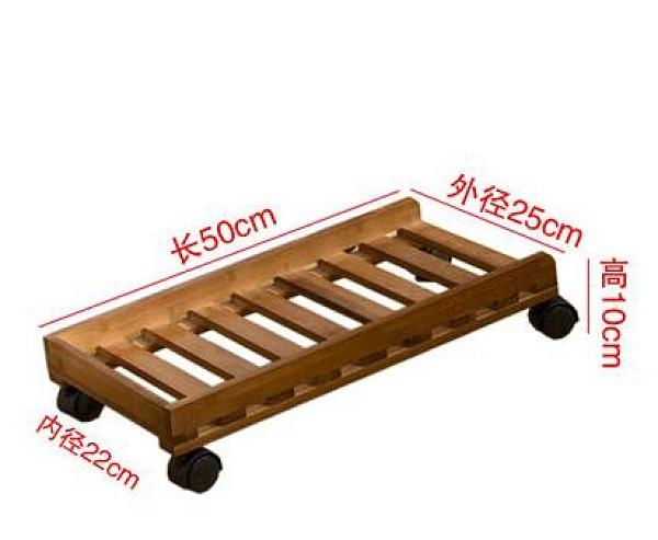 主機托架 電腦主機托架子可移動散熱底座實木機箱托盤收納置物架帶剎車TW【快速出貨超夯八折】
