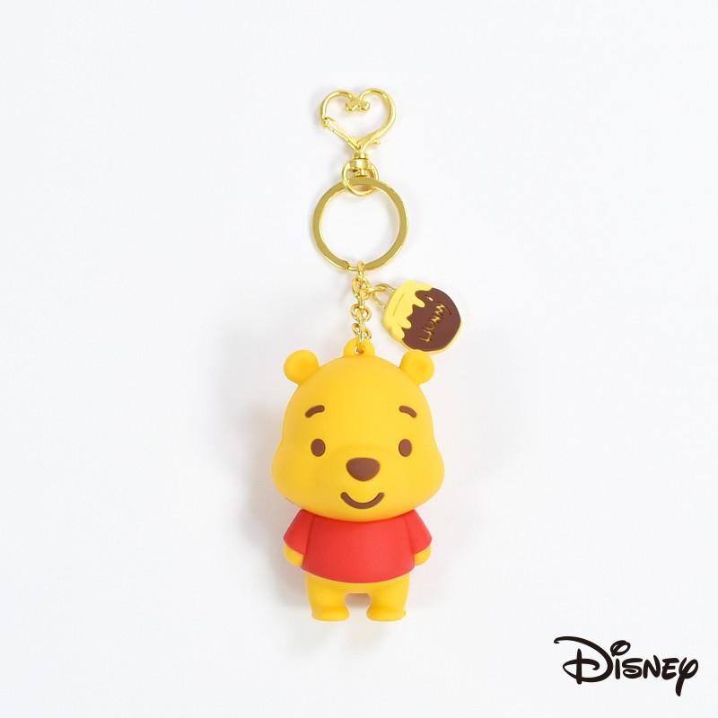 Disney 迪士尼|立體矽膠維尼零錢包吊飾 維尼 零錢包 矽膠 公仔 維尼 吊飾 小熊維尼 7-11 CA586