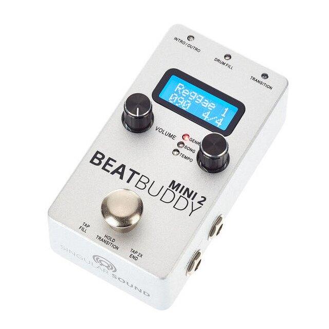 (公司貨保固) BeatBuddy Mini 2 真實鼓組取樣 數位鼓機 踏板式 MIDI 同步節奏機