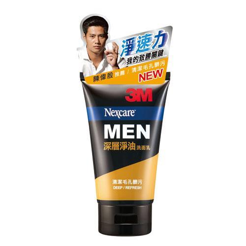 3M男性深層淨油洗面乳100g【愛買】