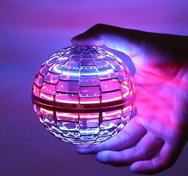 指尖陀螺 魔術球自由航線會飛行指尖陀螺手指回旋懸浮黑科技玩具【快速出貨八折特惠】