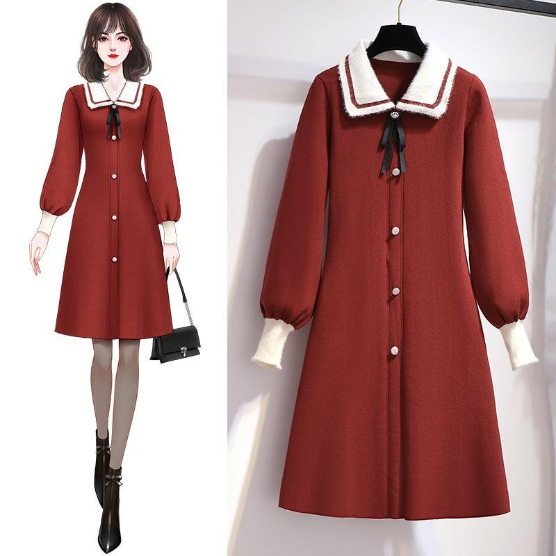 大碼 女裝 2020年秋冬新款 女生衣服 寬鬆 慵懶風大碼 女裝 多件式樣套裝/單件