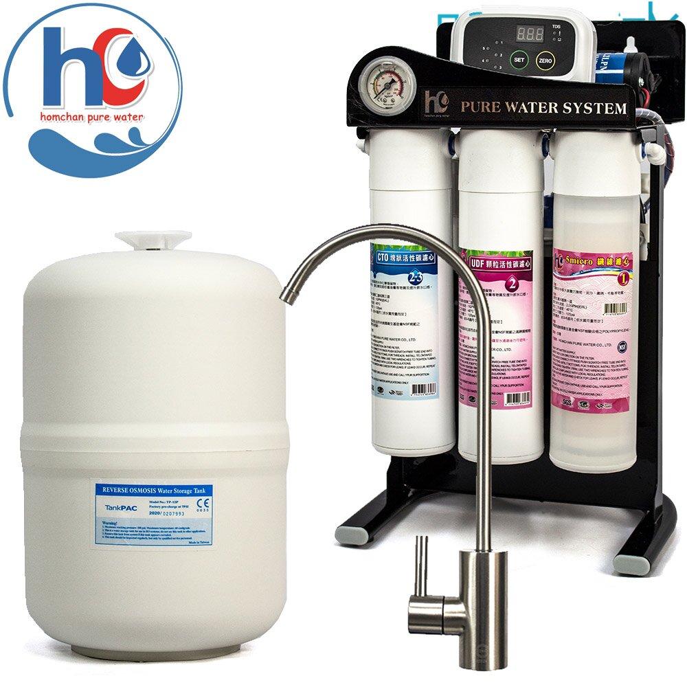 【hc 泓泉淨水】微電腦五道式RO逆滲透淨水器(AF-MINI-05NC-B)