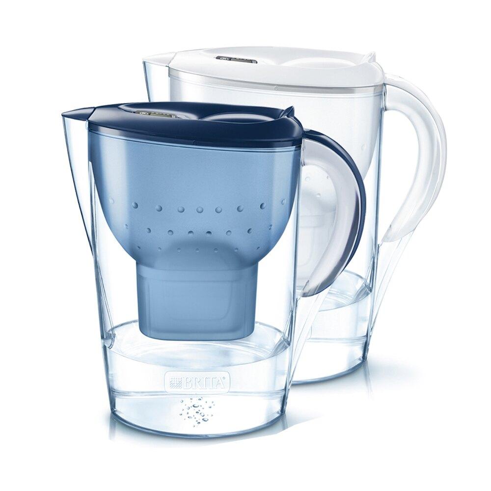 Brita Marella馬利拉濾水壺3.5L(XL) (白/藍) -|日本樂天熱銷Top|日本樂天熱銷