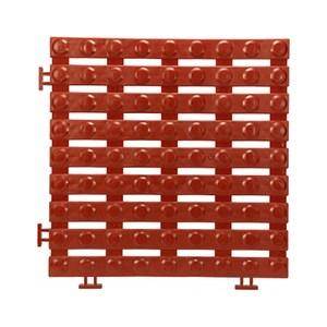 安可銅錢地板4片30/30/1.6CM/紅