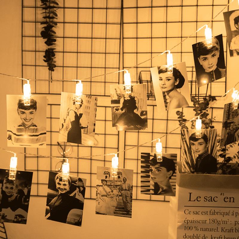 極美LED燈飾照片夾燈串