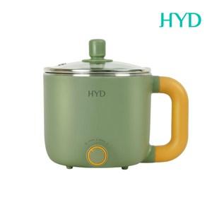 HYD 小食鍋-輕食尚料理快煮鍋(附蒸蛋架) D-522(綠)