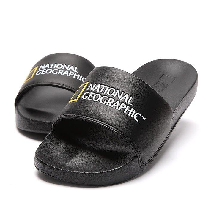 【毒】National Geographic 國家地理 Dive Plus 拖鞋 黑色 中性