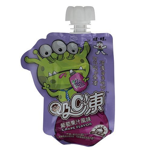 旺旺吸C凍可吸果凍-葡萄80g X6【愛買】