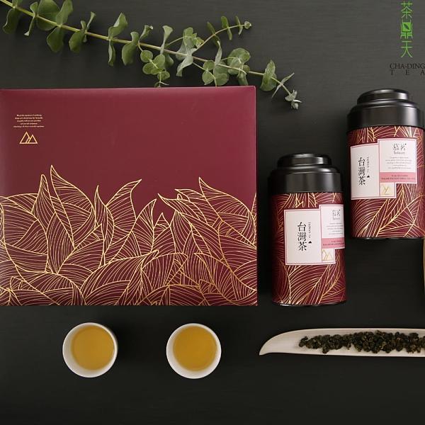 【茶鼎天】慕茗禮盒 -手採杉林溪茶 150g*2罐