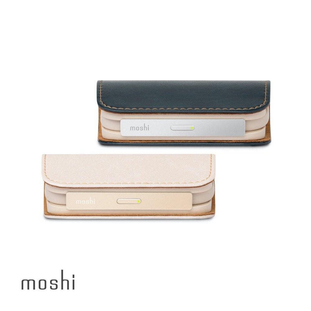 【快速到貨】Moshi IonGo 5K 帶線行動電源 (USB 及 Lightning 雙充電線,iPhone 充電專用)
