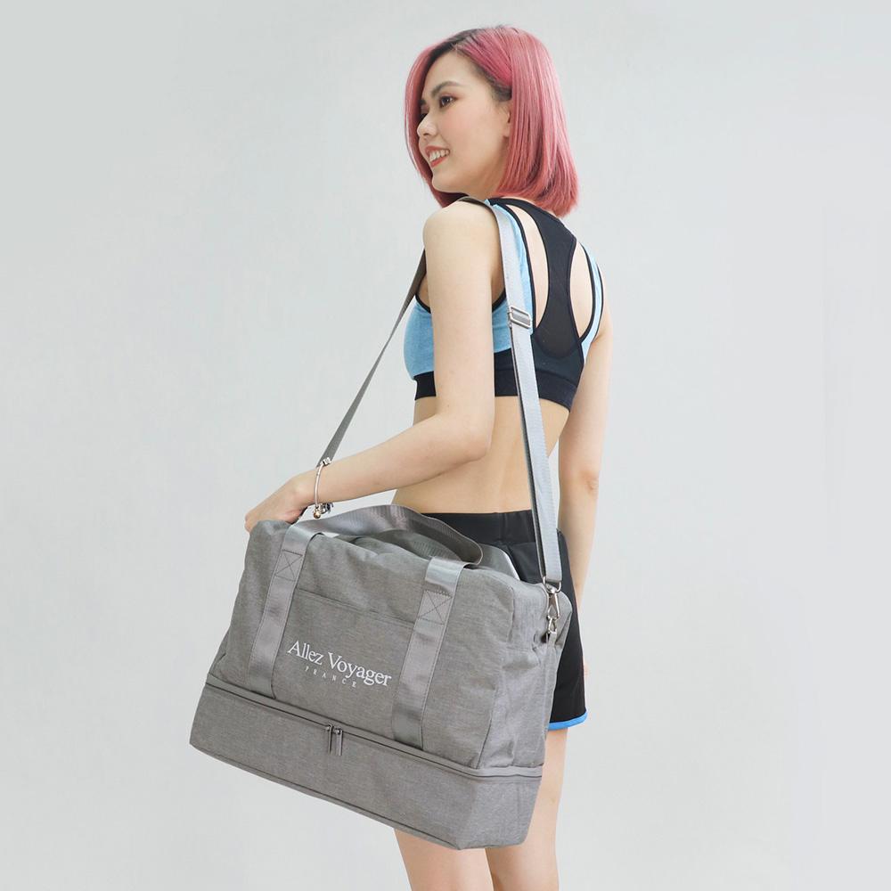 限時優惠*【奧莉薇閣】 旅行袋 運動包 行李收納袋 側背包 斜背包*方形大容量
