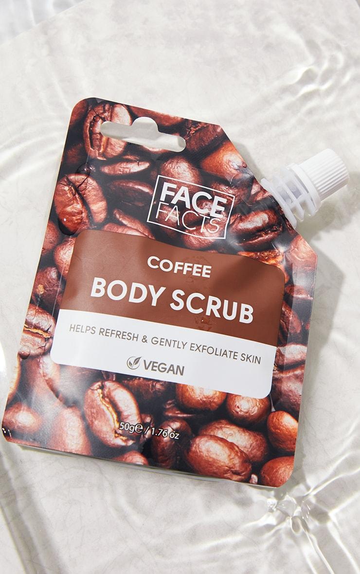 Face Facts Body Scrub Coffee