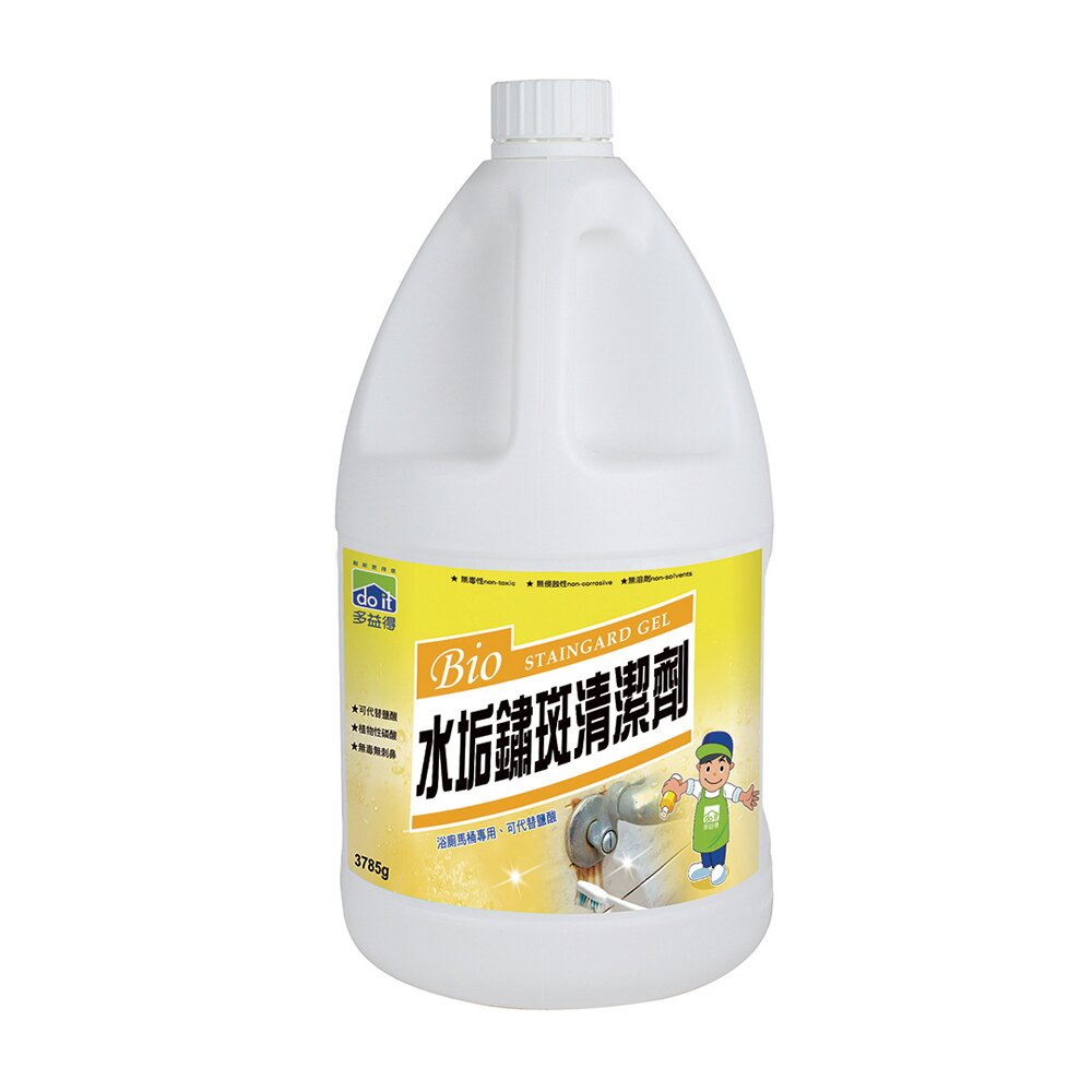 多益得水垢鏽斑清潔劑3785g