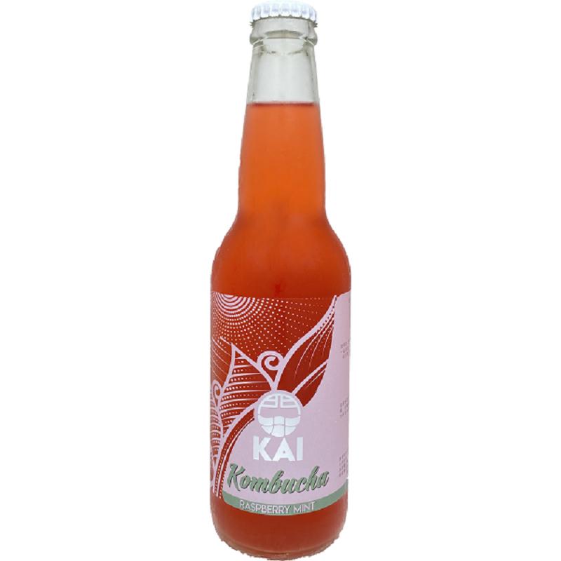 [馥聚] Kai康普茶12入組 (330ml/瓶) (全素) 覆盆莓薄荷