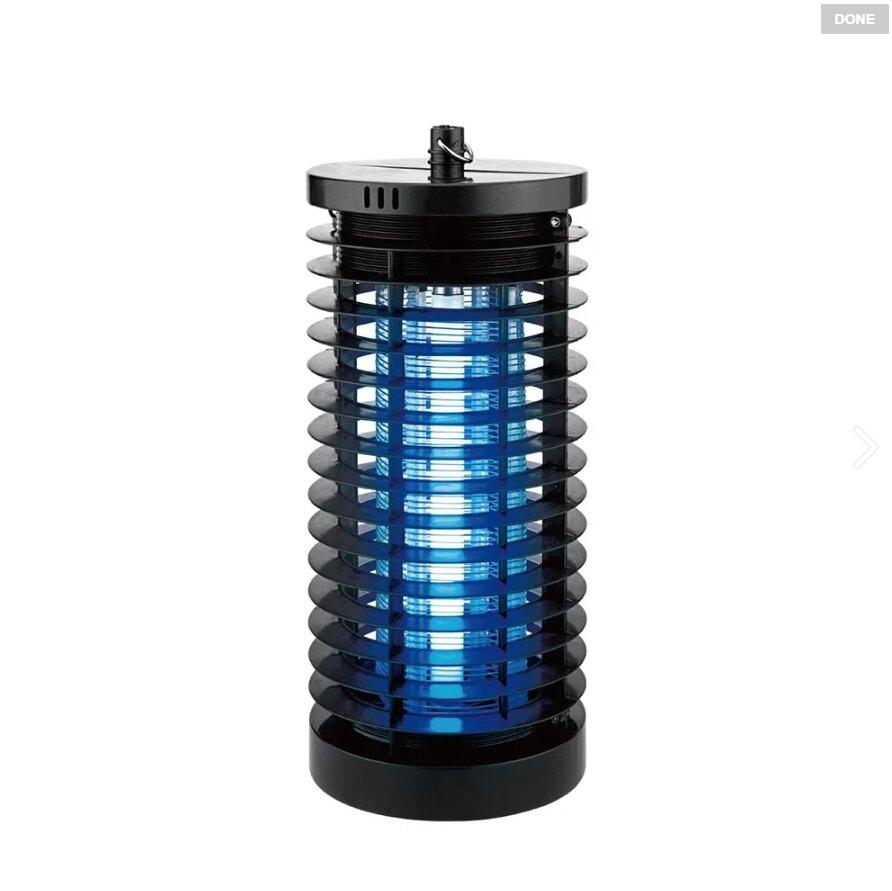 【KINYO】電擊式捕蚊燈7W (KL-7061)【迪特軍】