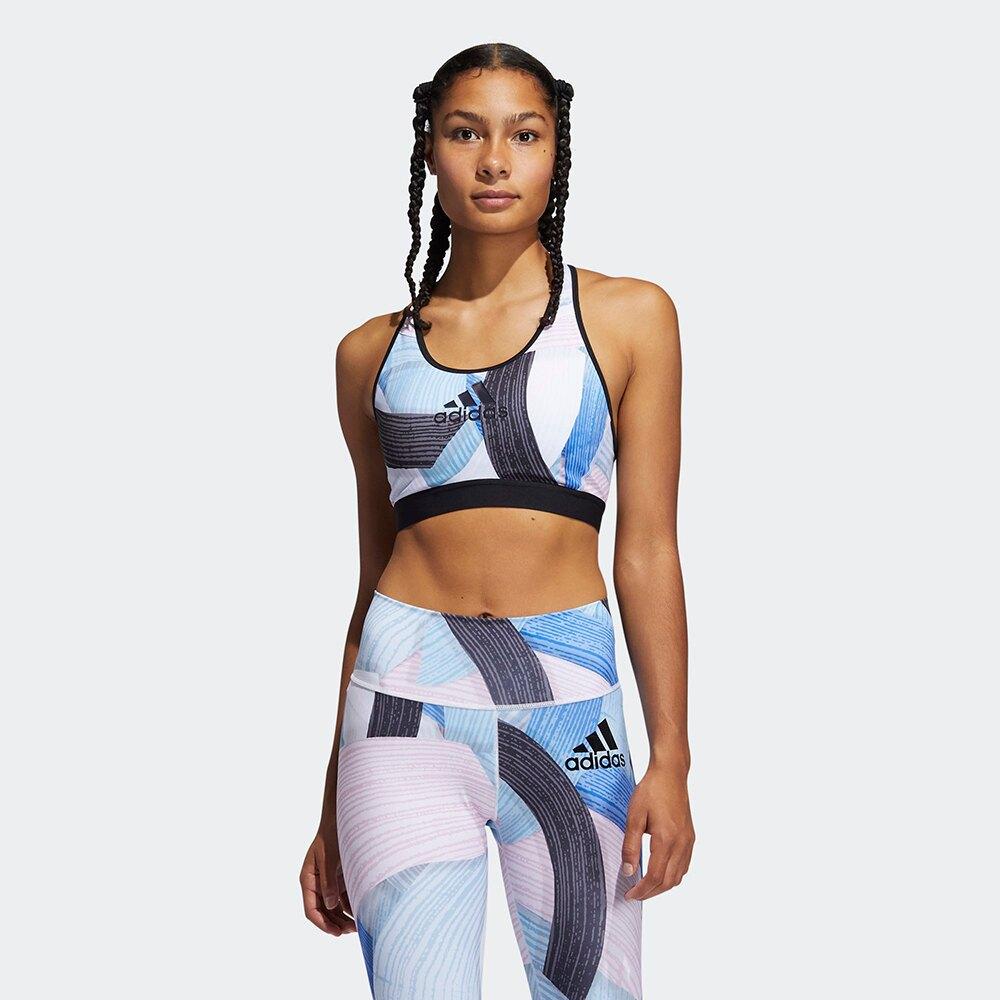 ADIDAS DON'T REST NINI SUM 女裝 運動內衣 健身 訓練 可拆胸墊 手繪圖 彩色【運動世界】GL4363