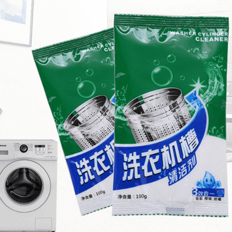 洗衣機槽清潔劑(4 包)