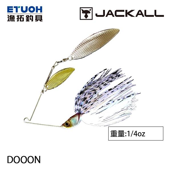 漁拓釣具 JACKALL DOOON 1/4oz [複合式亮片]