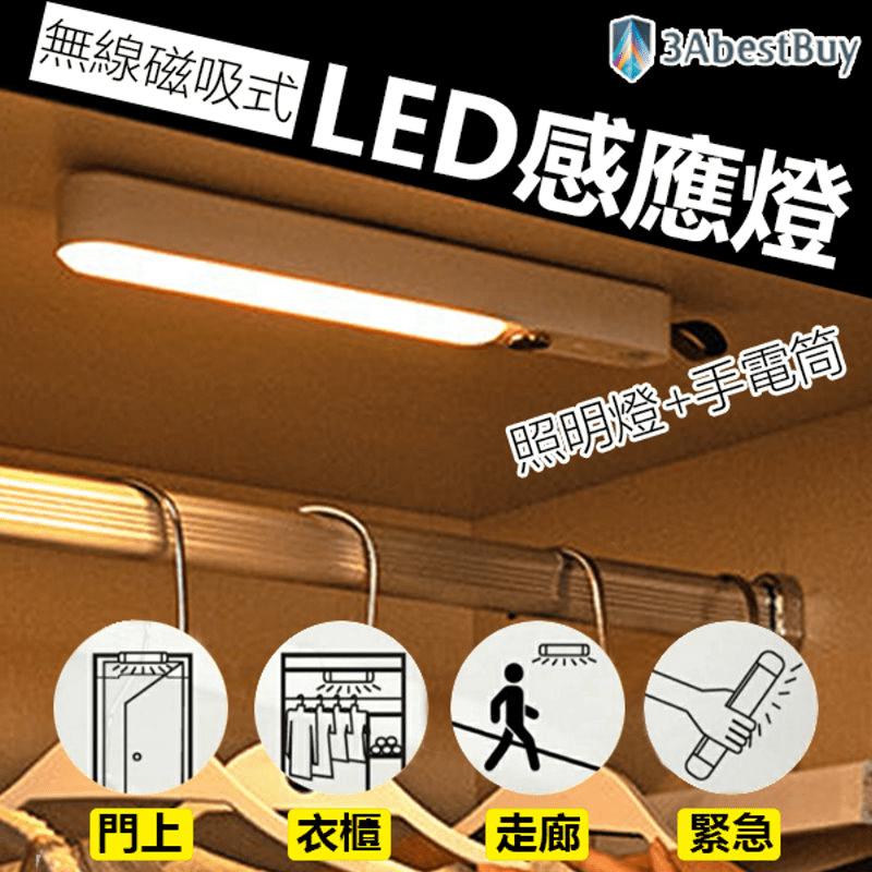 美型磁吸無線LED感應燈
