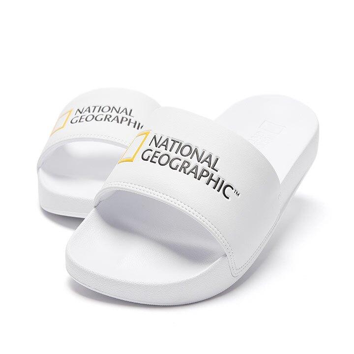 【毒】National Geographic 國家地理 Dive Plus 拖鞋 白色 中性
